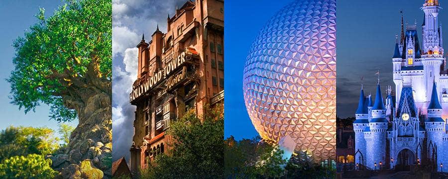 4 Principais Parques da Disney em Orlando
