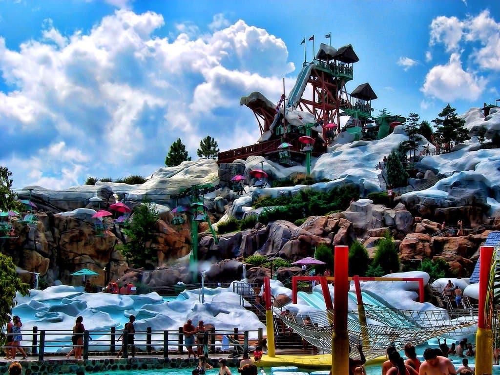 Tobogã no Disney's Blizzard Beach
