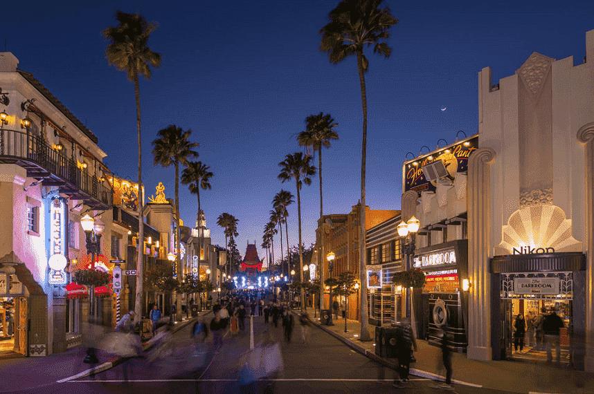 Entrada do Parque Disney Hollywood Studios em Orlando