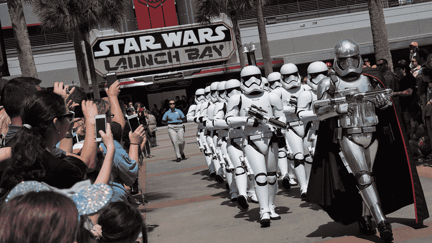 Star Wars no Parque Disney Hollywood Studios em Orlando