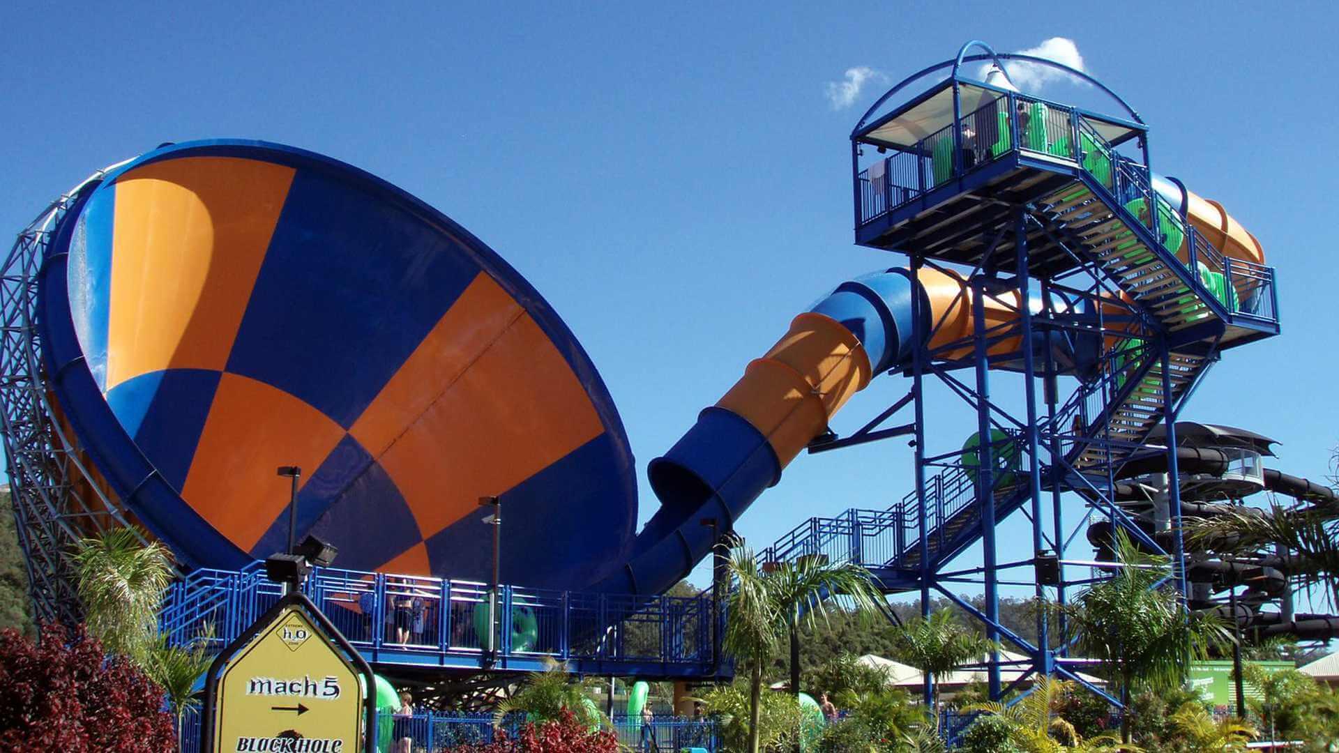 Wet'n Wild Orlando:  Maior parque aquático do mundo