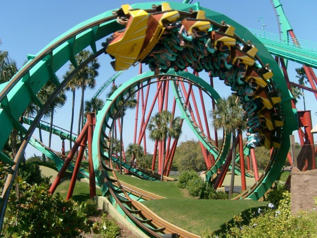 Parque Busch Gardens em Tampa Orlando