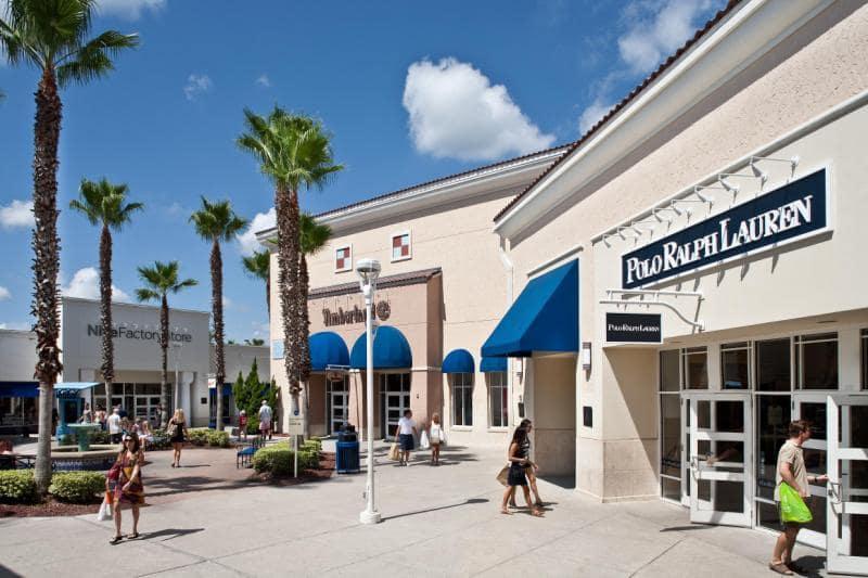 Principais lojas dos Outlets Premium em Orlando