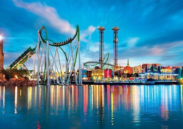 Parque Islands of Adventure em Orlando
