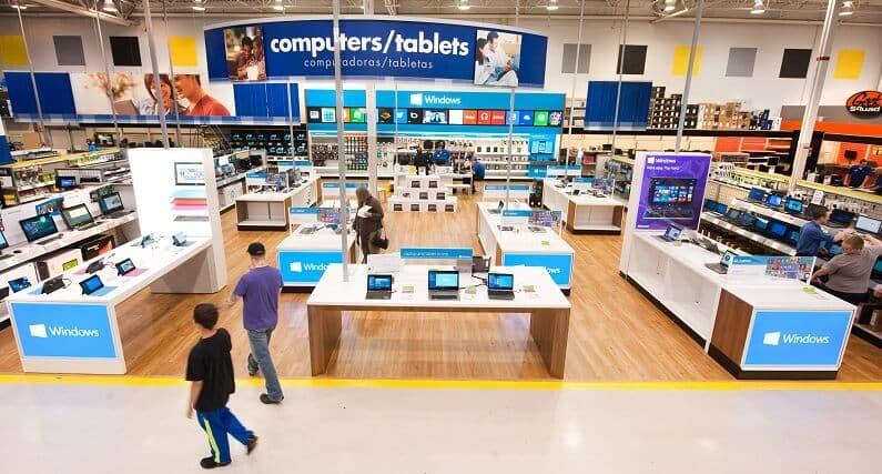 Loja de eletrônicos Best Buy em Orlando