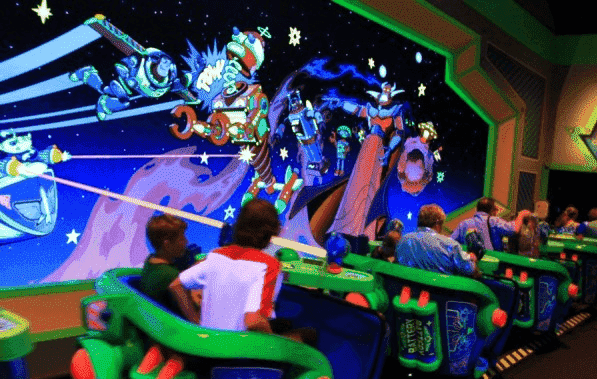 Buzz Lightyear's Space Ranger Spin na Disney