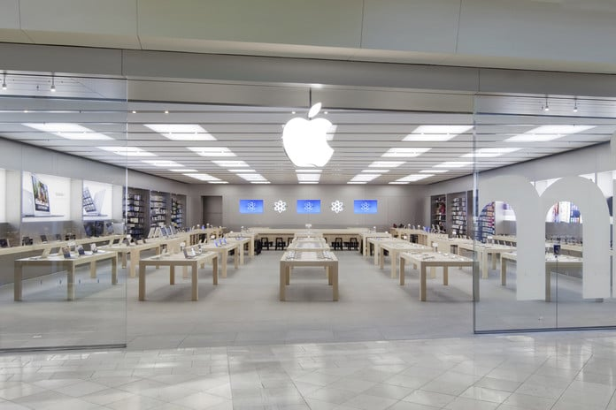 Loja de eletrônicos Apple Store