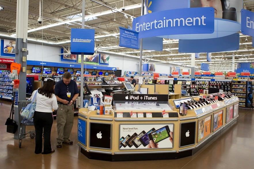 Comprando eletrônicos nos supermercados em Orlando