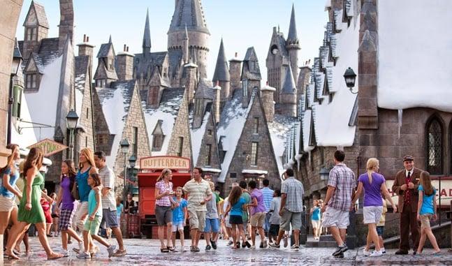Hogwarts Harry Potter em Orlando