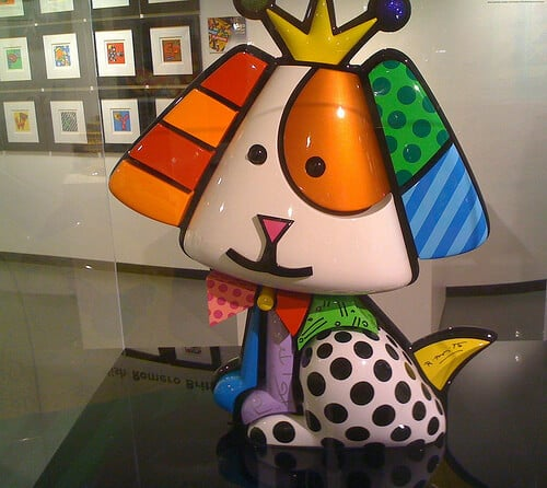 Galeria do Romero Britto em Miami na Lincoln Road