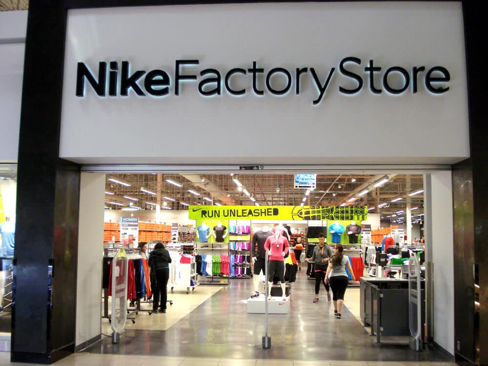 Lojas de roupas da Nike em Miami