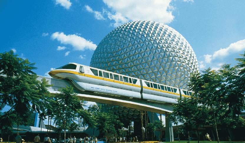 Spaceship Earth no Epcot em Orlando