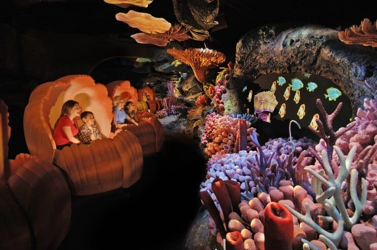 The Seas With Nemo and Friends no Epcot na Disney