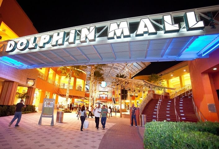 Outlet e Shopping Dolphin Mall Miami
