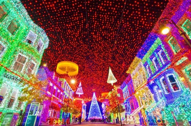 Parque Disney Hollywood Studios no Natal
