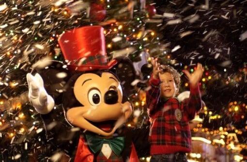 Como são os parques da Disney na época de Natal