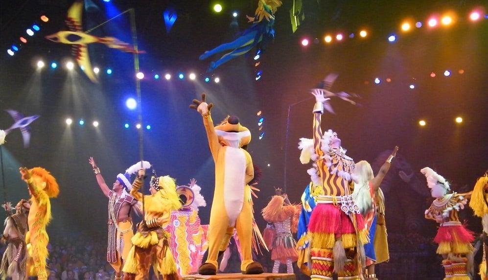 Musical do Rei Leão no Animal Kingdom em Orlando