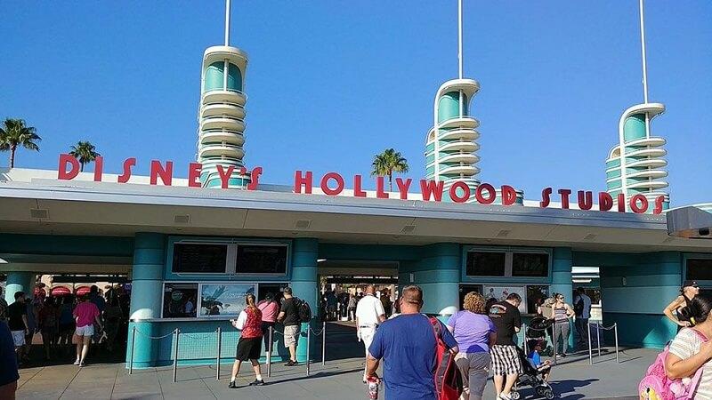 Entrada do parque Disney Hollywood Studios