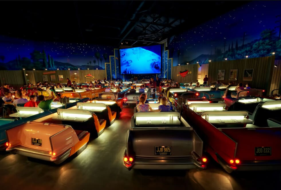 Sci-Fi Dine-In Theater Restaurant no Hollywood Studios