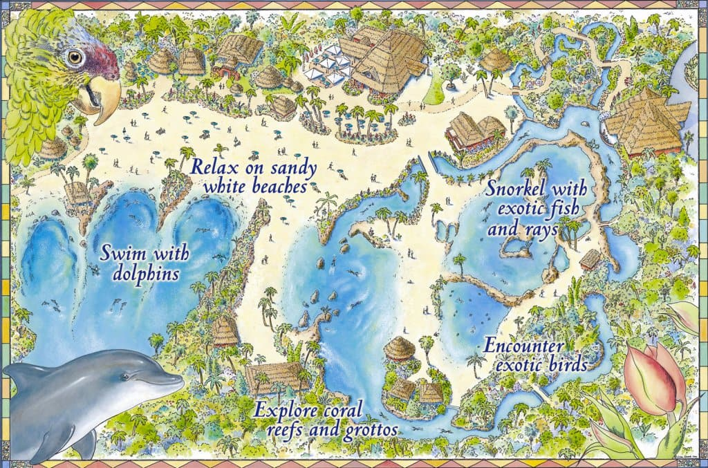 Atrações do Discovery Cove em Orlando