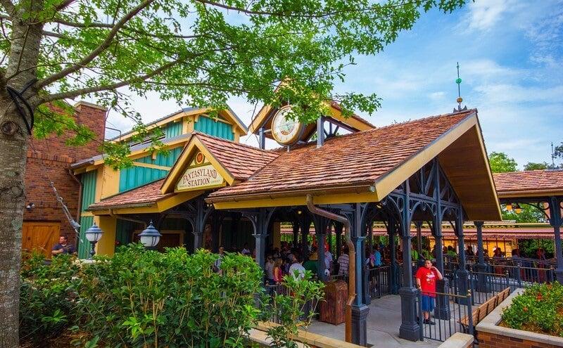 Fantasyland Station no Magic Kingdom