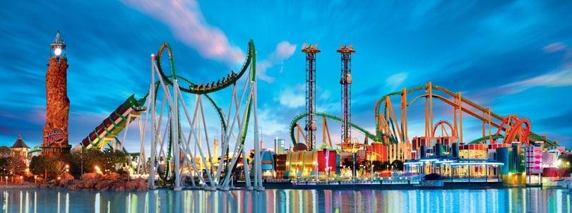 Parques da Universal Orlando - Ingressos
