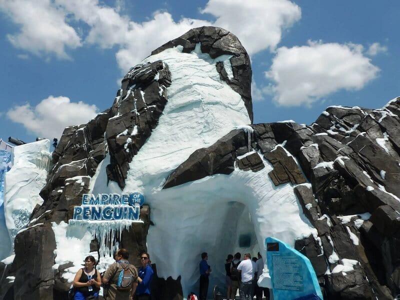 Antartica: Empire of Penguin no Sea World em Orlando