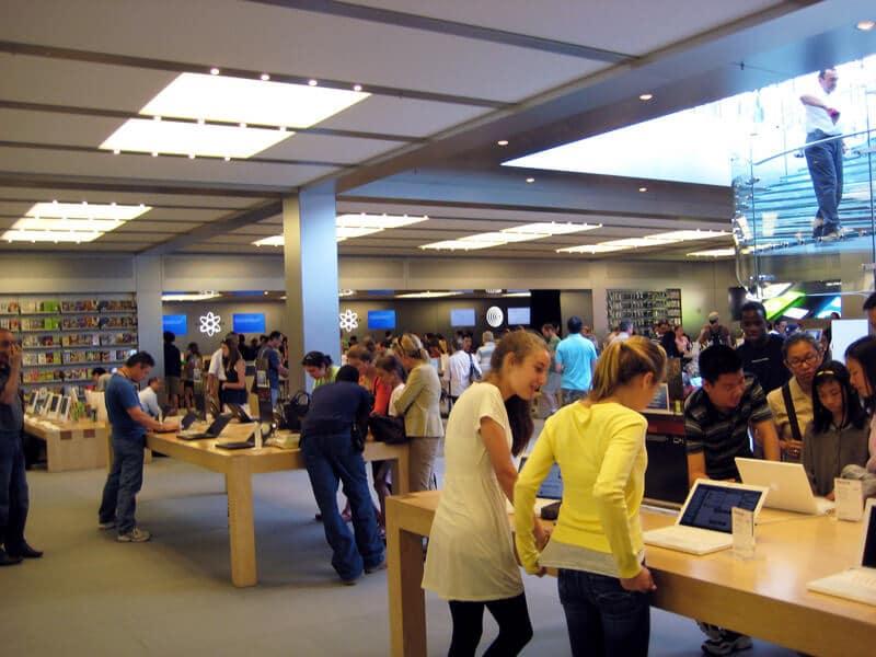 Lojas da Apple em Miami e Orlando