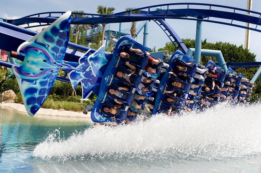 Parque SeaWorld em Orlando