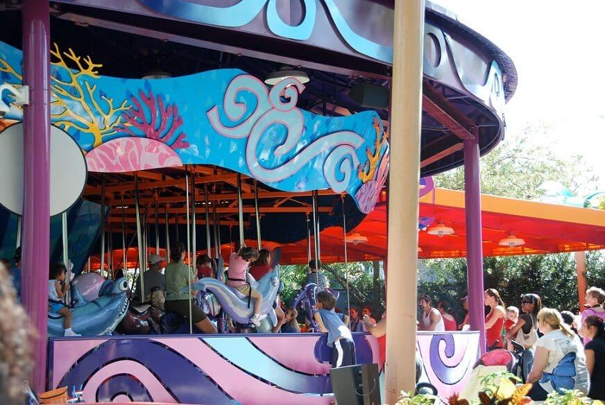 Sea Carousel no Sea World em Orlando