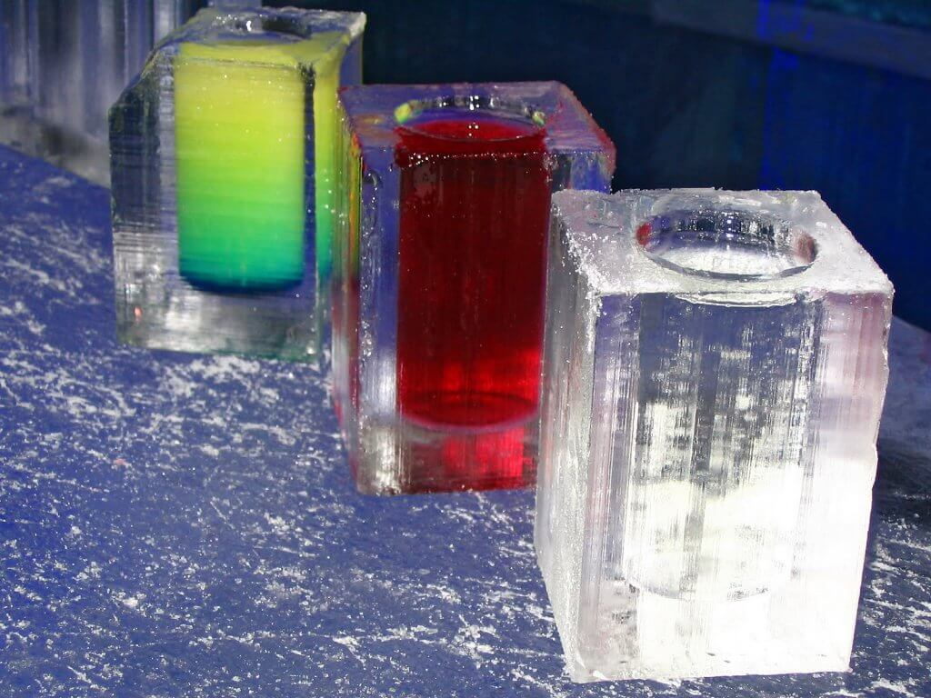 Drinks do Ice Bar em Orlando