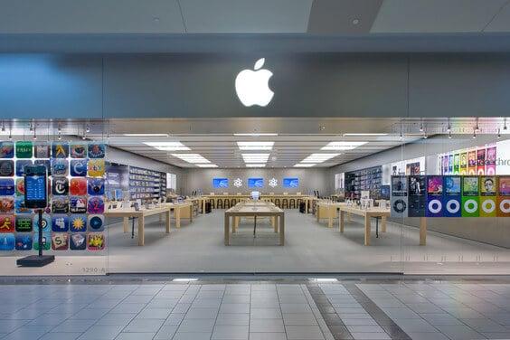 Lojas de eletrônicos no Shopping Dadeland Mall