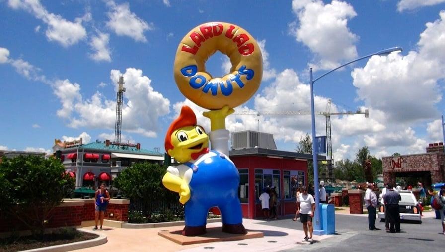 Brinquedo dos Simpsons e a Springfield