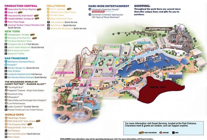 Sobre o parque Universal Studios em Orlando