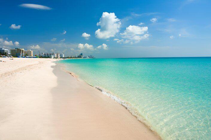 Praia Haulover Beach em Miami Flórida