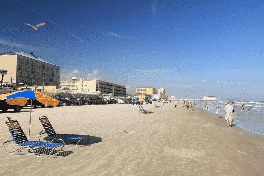 Praias em Daytona Beach