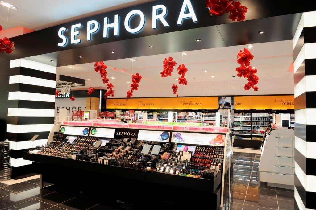 Loja de maquiagens Sephora