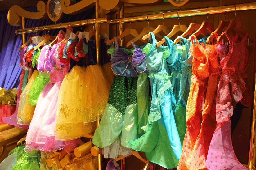 Detalhes da transformação de princesa na Disney em Orlando
