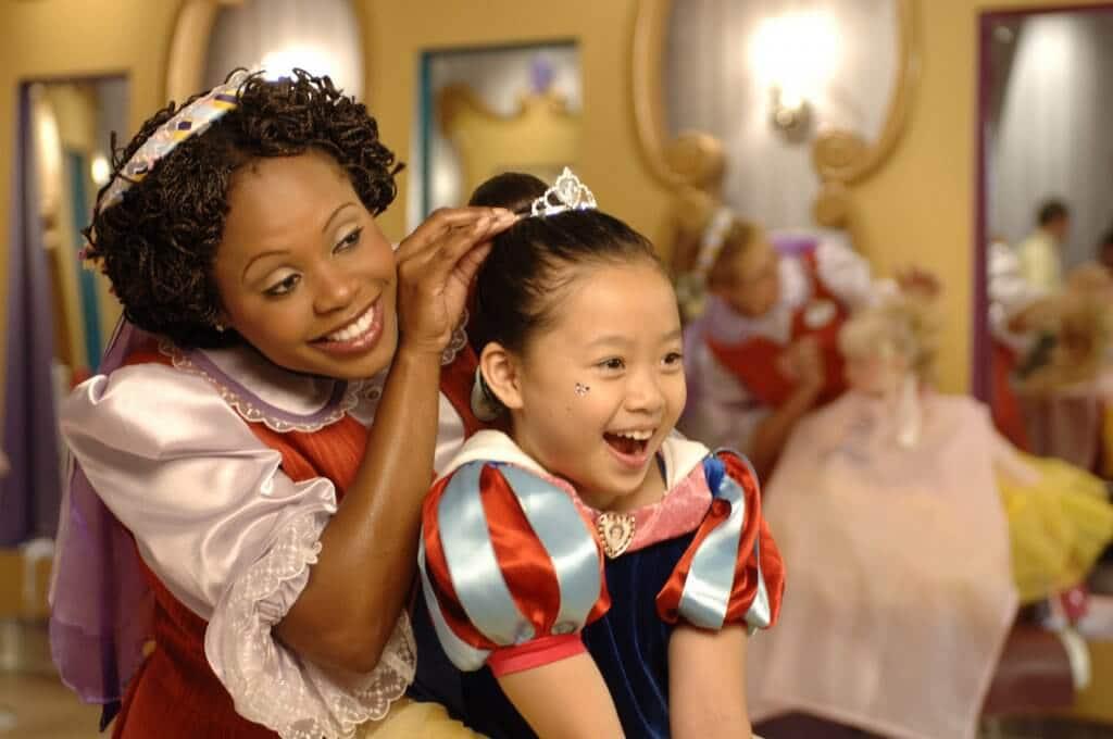 Salão de beleza Bibbidi Bobbidi Boutique na Disney