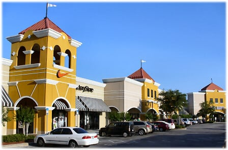 Compras no Outlet The Lake Buena Vista em Orlando