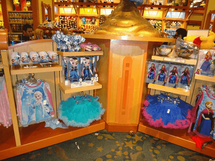 Alas e salas da World of Disney em Orlando