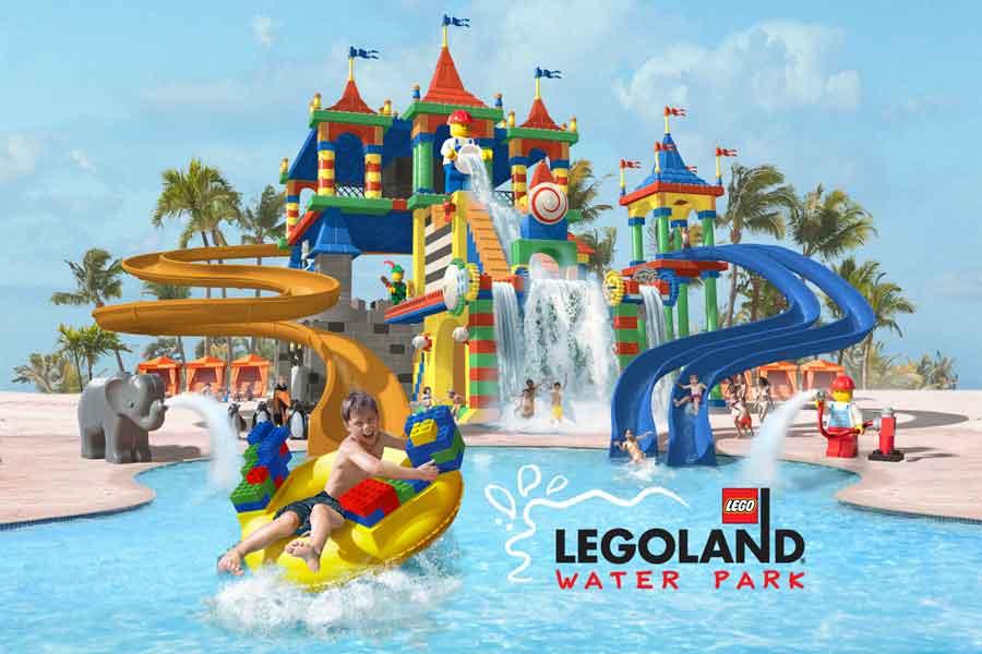 Parque Aquático Legoland Orlando