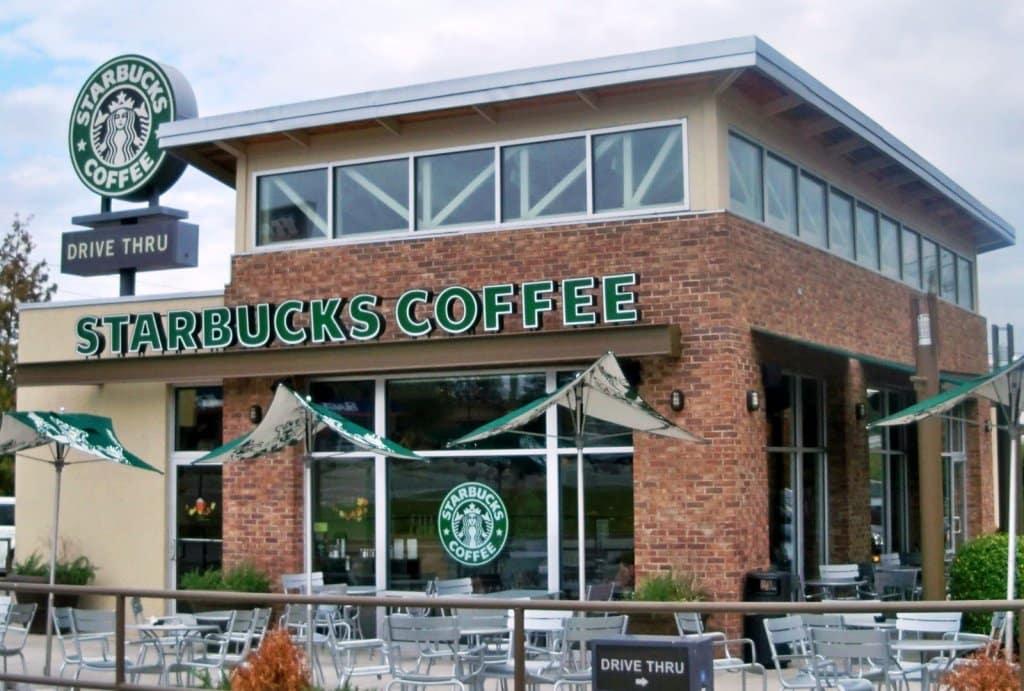 Cafeteria Starbucks em Miami e Orlando