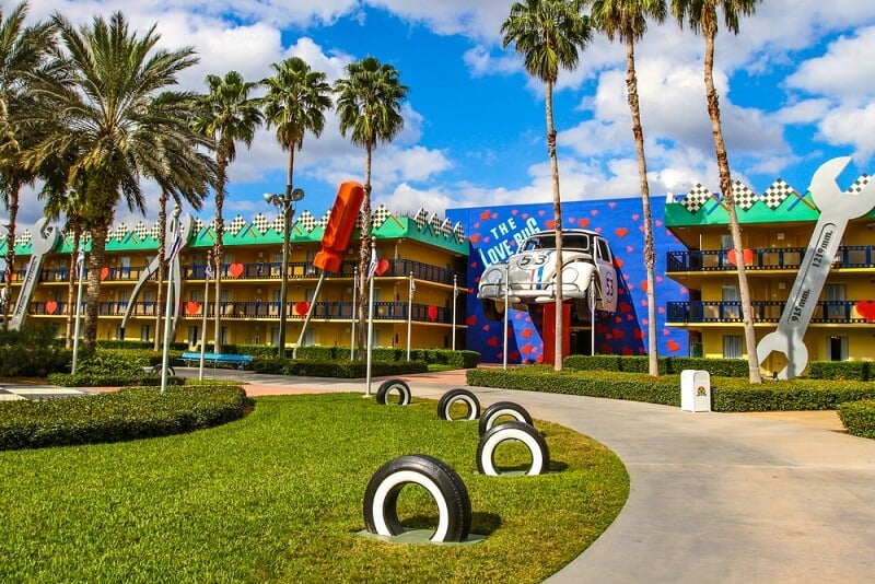 Hotel Disney's All-Star Movies Resort em Orlando
