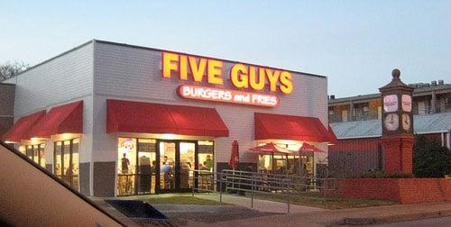 Restaurante e lanchonete Five Guys