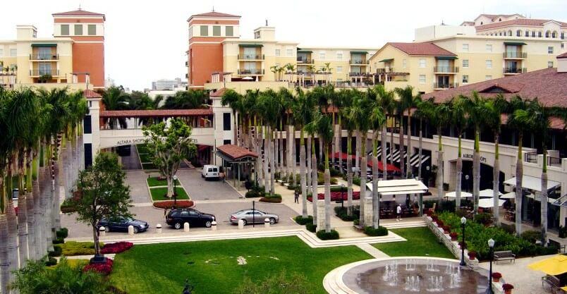 Lojas do Shopping Village Of Merrick Park