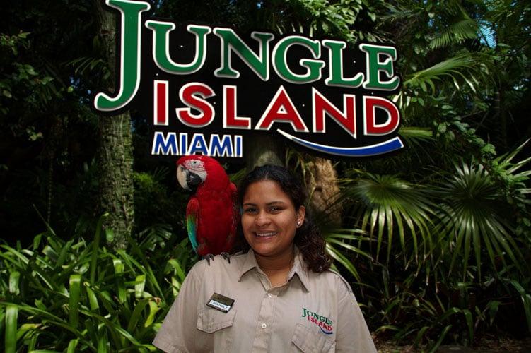 Jungle Island em Miami