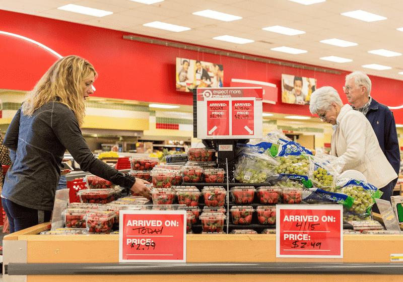 Loja de departamento e supermercado Target