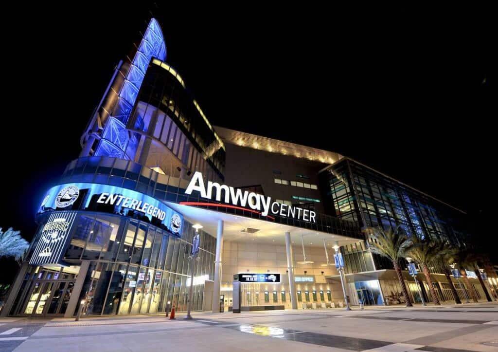 Detalhes da Arena Amway Center