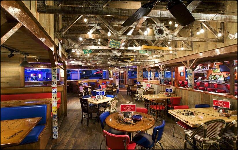 Informações do restaurante Bubba Gump em Orlando